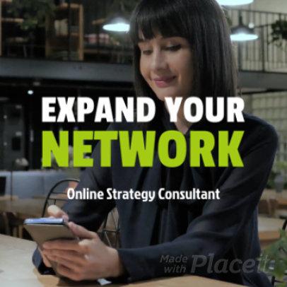 Instagram Video Maker for a Multi-Level Marketing Consultant 936f-2306-el1