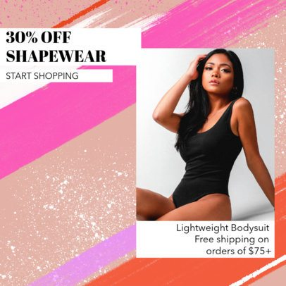 Ad Banner Creator for a Shapewear Sale 2934b