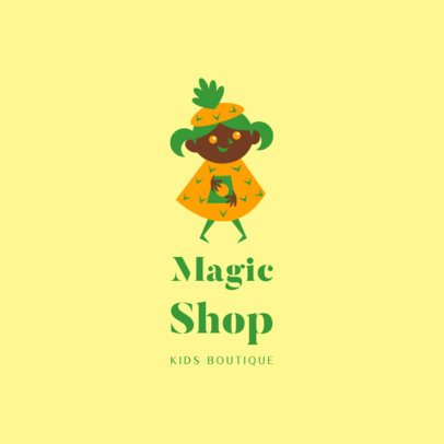 Colorful Logo Template for a Children's Apparel Brand 3660m