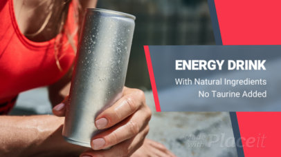 Slideshow Video Maker for an Energy Drink MLM Company 450b 2313