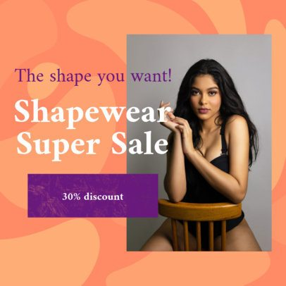 Dropshipping Ad Banner Creator for Beauty and Clothing Businesses 2936h