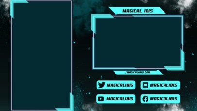 Twitch Overlay Maker for Mobile Gamers with a Vertical Layout 2729d