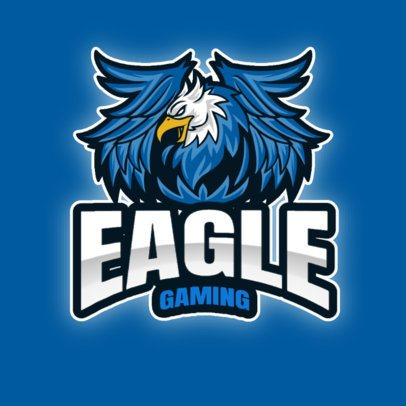 eSports Logo Generator with an Aggressive-Looking Eagle Illustration 2945d-el1