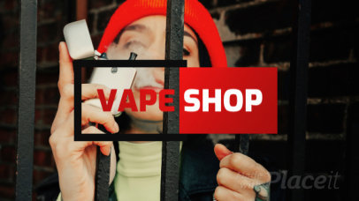 Dropshipping Product Catalog Video Maker for a Vape Shop 1255a 2319
