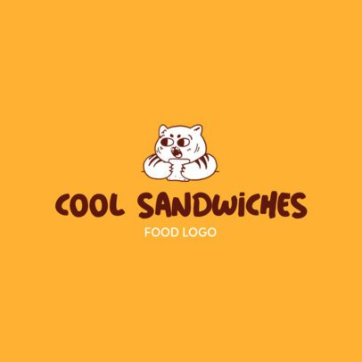 Free Logo Maker for a Food Business Featuring a Cute Illustration 3696b