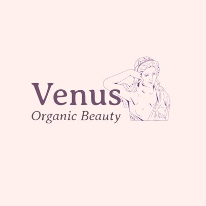 Free Beauty Logo Maker Featuring a Classical-Styled Illustration 3696w