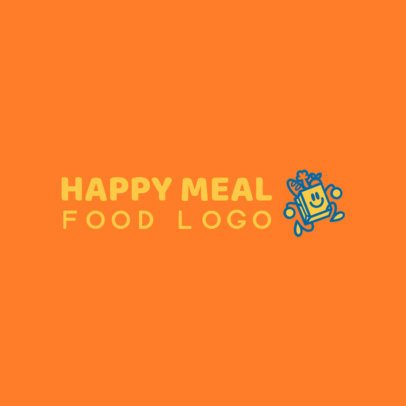 Free Logo Generator for a Food Business with a Fun Icon 3696m