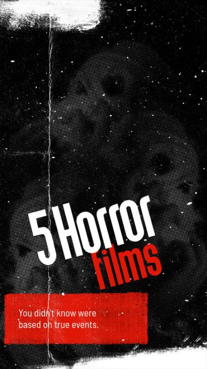 Horror-Themed Instagram Story Maker to Suggest Movies 2966d
