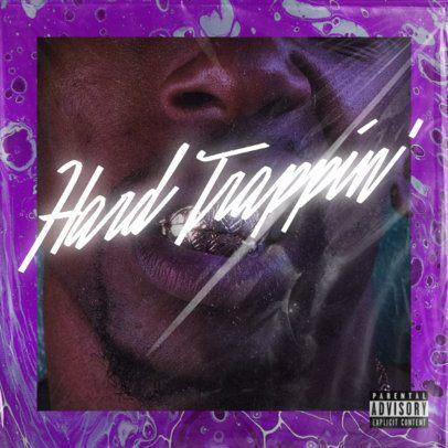 Mixtape Cover Design Template for a Rap Artist 2983j