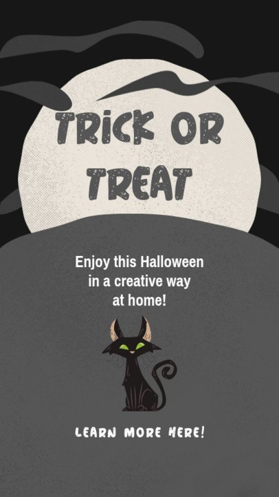 Instagram Story Creator to Share Tips to Spend Halloween at Home 2953e-el1