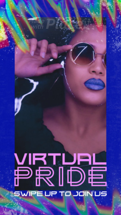 Instagram Story Video Creator for a Virtual Pride Celebration 2227