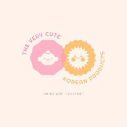 Skincare Logo Maker for Korean Dropshipping Beauty Brands 3726