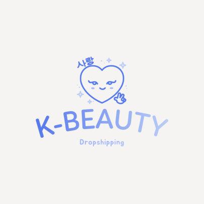 Trendy Logo Maker for a Korean Beauty Company 3730
