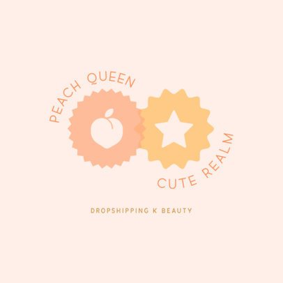 Online Logo Template for a Dropshipping Beauty Brand 3726k