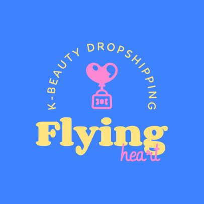 Dropshipping Brand Logo Generator for Korean Beauty Items 3728c