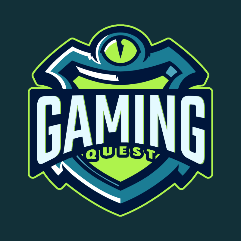 Gaming Logo Template Featuring 3D Emblems 3757