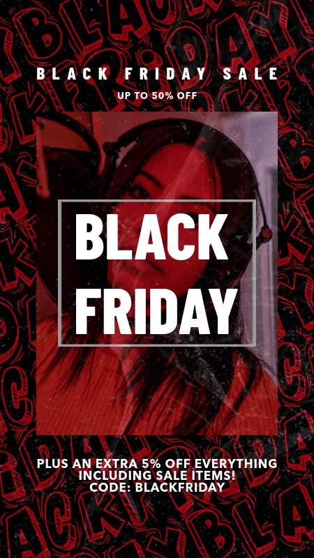 Instagram Story Maker for Black Friday with a Cool Background  3028l
