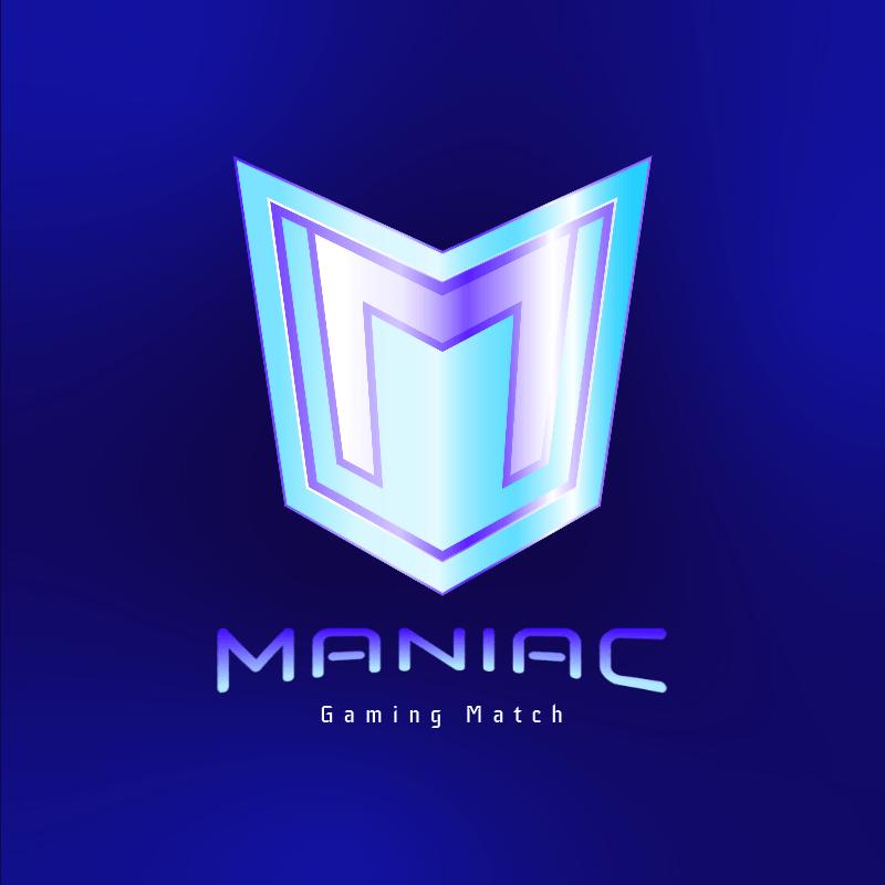 Gaming Tournament Logo Template Featuring a Metallic Emblem 3750c