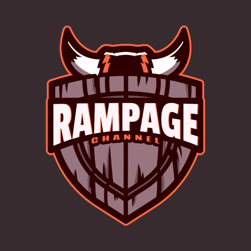 Logo Maker for a Gaming Channel with a Viking Shield Graphic 3757a