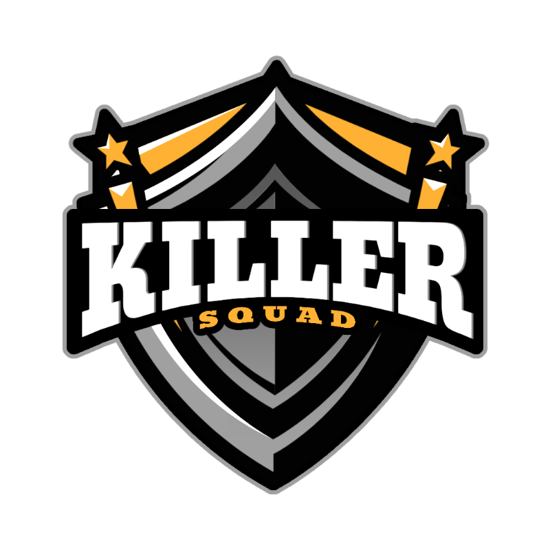 Shield-Shaped Logo Creator for a Gaming Squad 3757d