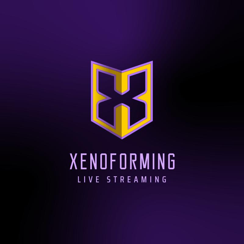 Monogram Logo Maker for a Live Gaming Streaming 3751g