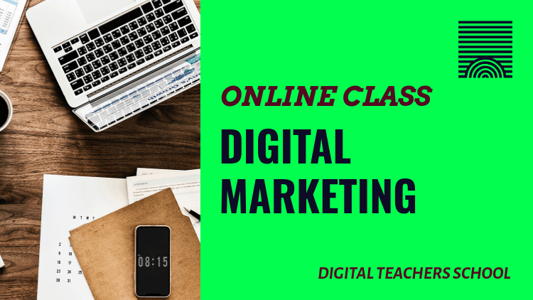 YouTube Thumbnail Template for a Digital Marketing Masterclass 3036f