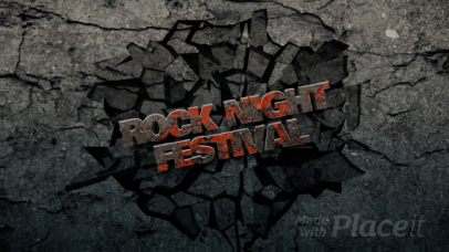 Intro Maker for a Rock Festival 2336-el1