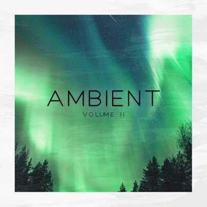 Cover Art Generator for an Ambient Music Album 3061g