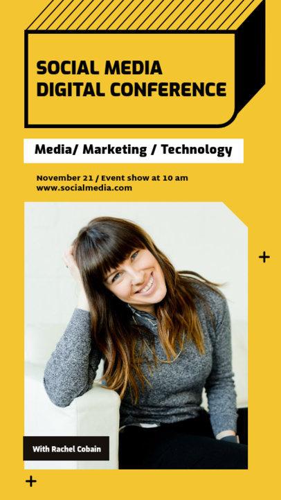 Instagram Story Generator for a Digital Marketing Conference 3060a-el1