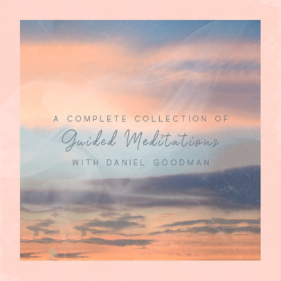 Album Cover Creator for a Collection of Guided Meditations 3061d