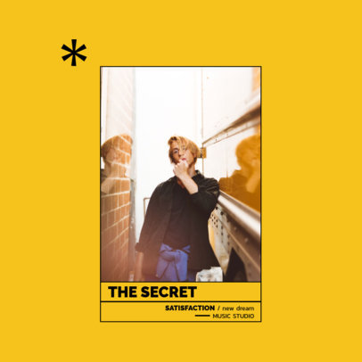 Pop Album Cover Creator for an Upcoming Female Artist 3080c-el1