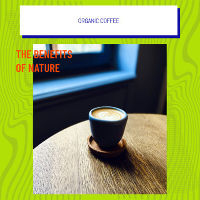 Instagram Post Generator for a Network Marketing Coffee Company 3065g