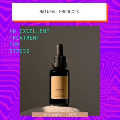 Instagram Post Template for a Multi-Level Marketing Essential Oil Brand 3065h