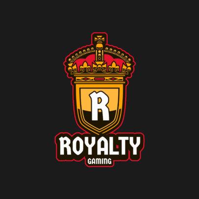 Gaming Logo Template Featuring a Royal Emblem 3116-el1