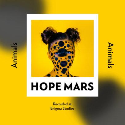 Mixtape Cover Template for an Acid House Music Album 3108e-el1