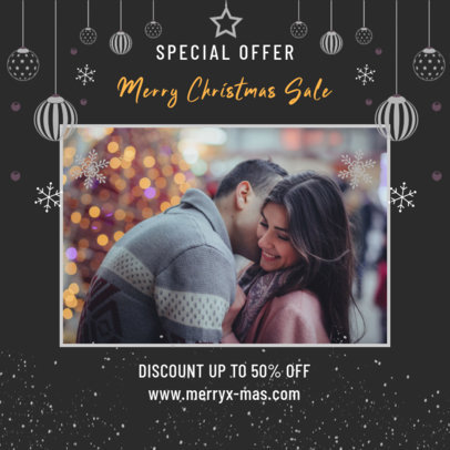 Instagram Post Creator for a Special Offer on Christmas Day 3087f