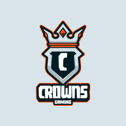 Online Logo Generator for Gamers Featuring a Royal Crown Graphic 3116b-el1