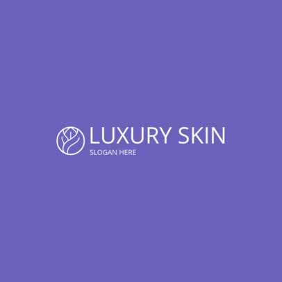 MLM Logo Generator for a Luxurious Skincare Brand 3816g