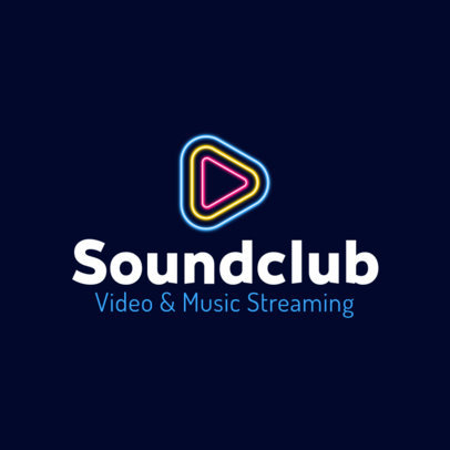 Logo Maker for Video and Music Streaming Companies 3833j