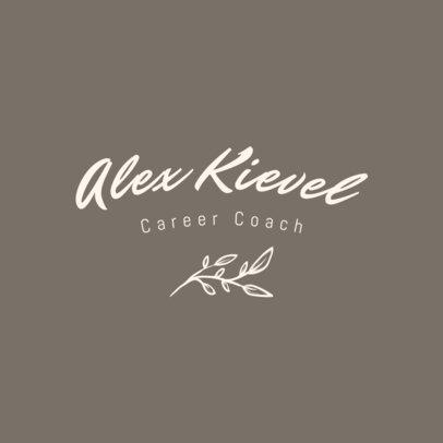 Logo Maker for Career Coaches Featuring a Handwritten Font 3788h