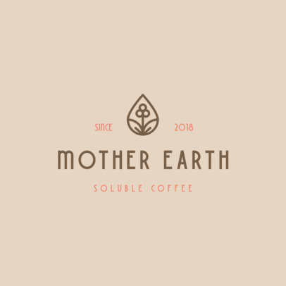 Online Logo Generator for an Organic Coffee Brand 3852c