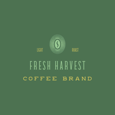 Simple Logo Maker for a Network Marketing Coffee Company 3852g