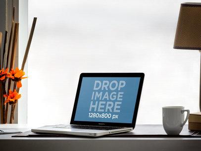 MacBook Pro On Office Desk