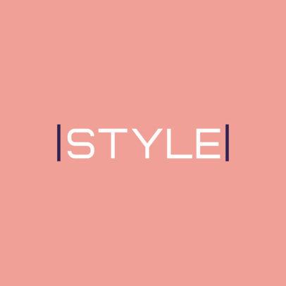 Online Logo Template for a Modern Apparel Store 3866g