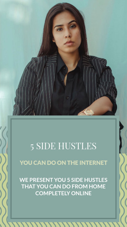 Instagram Story Maker with Side Hustle to do From Home 3234d
