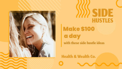 YouTube Thumbnail Template for Content with a Health and Wealth Theme 3236h