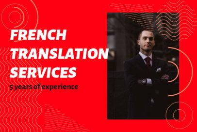 Fiverr Gig Image Template for Professional Translators 3237a