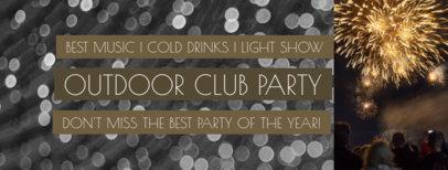 Outdoor Party Facebook Cover Creator 1867d