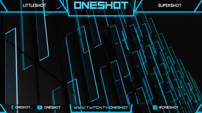 Twitch Overlay Template for Live Streams 1063a