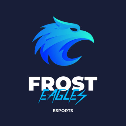 Cool eSports Logo Creator with a Simple Eagle Graphic 3348b-el1